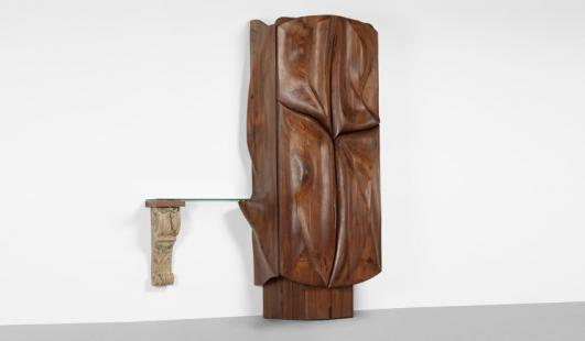 PHILLIP LLOYD POWELL illuminated bar cabinet e($50,000-$70,000)