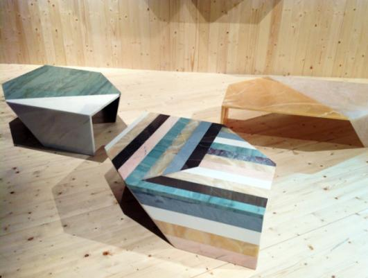 Origami Tables - Earthquake 5.9 collection by Patricia Urquiola
