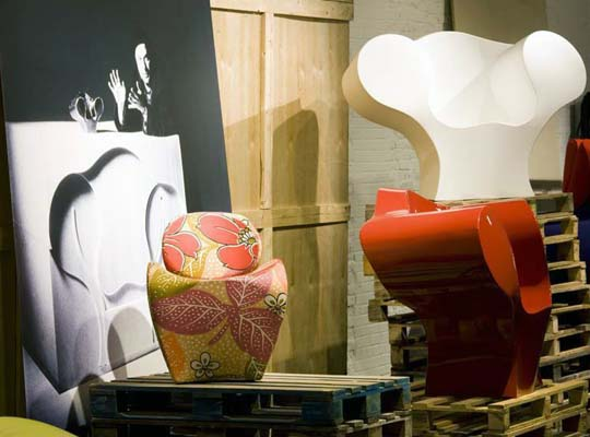 Backstage: A Sideview On The Moroso Design Collection - MOROSO