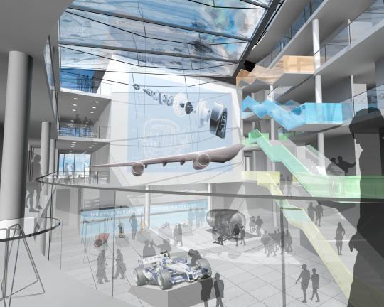 Dyson School, Atrium View