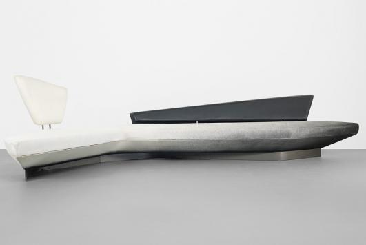 ZAHA HADID Woosh Sofa estimate: $30,000–50,000