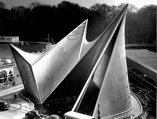 Philips Pavillion at the World's Fair in Brussels, 1958