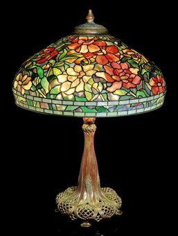 Tiffany Studios - Peony lamp shade