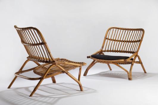 Joseph-André Motte Sabre Chairs, 1954