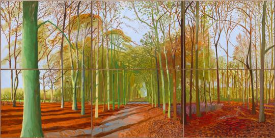 'Woldgate Woods' by David Hockney