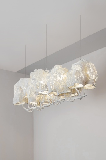 NACHO CARBONELL | WHITE COCOON CHANDELIER 2016