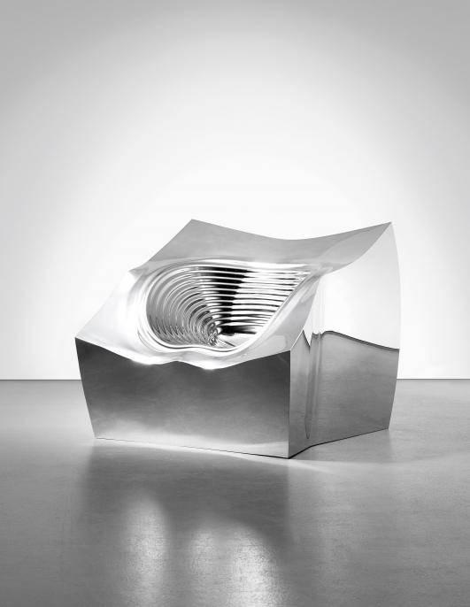 "RON ARAD ""Tom Block"" chair, 2006 Estimate $40,000 - 60,000"