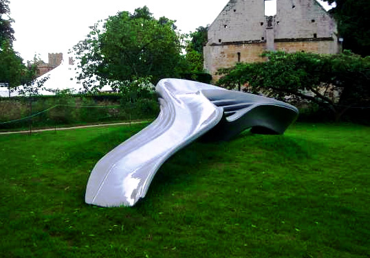 Zaha Hadid - Reconstruction #3 Artists' playground - Sudeley Castle
