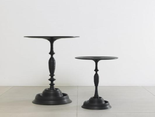 SEBASTIAN BRAJKOVIC | LATHE TABLE 650 & 450 BLACK 2010