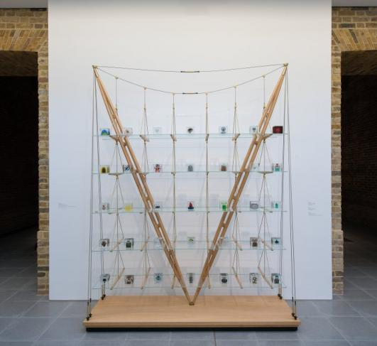 Martino Gamper Installation view from exhibition design is a state of mind, Serpentine Gallery, London [photo: Hugo Glendinning]