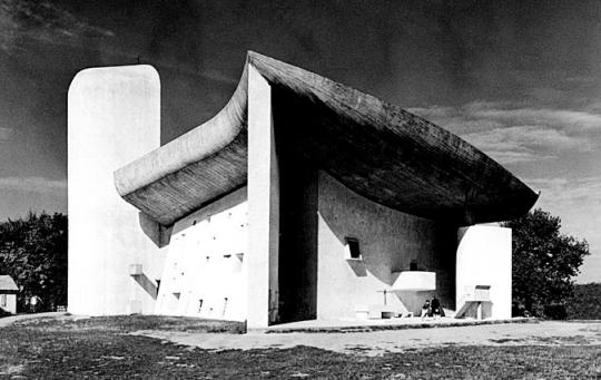 Le Corbusier, Notre Dame du Haut chapel, Ronchamp, 1955 Photo credit: Bildarchive Monheim/arcaid.co.uk ©FLC, Paris and DACS
