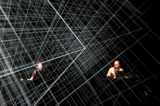 MURCOF + SIMON GEILFUS – ANTIVJ (Live AV, London premiere) Credits: Ed Jansen