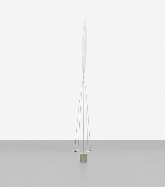 HARRY BERTOIA untitled (Balancing Form) estimate: $70,000–90,000