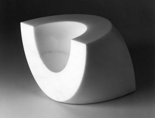 'Jar B', marble containers produced by Danese, 1964