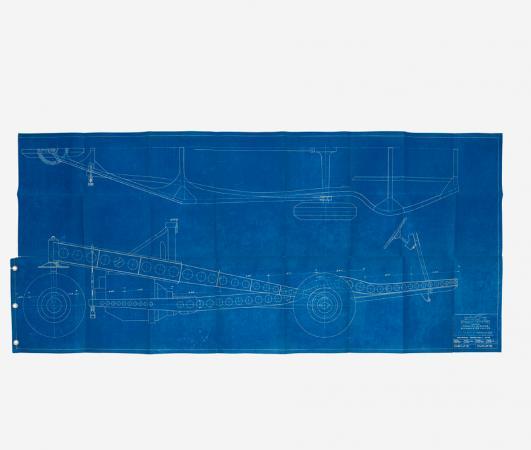 R. BUCKMINSTER FULLER Dymaxion blueprints estimate: $20,000–30,000