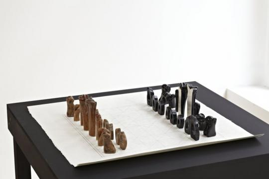 JULIA LOHMANN & GERO GRUNDMANN Tidal Ossuary Chess Set, 2012