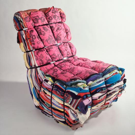 'Rag chair' by Tejo Remy [1991]