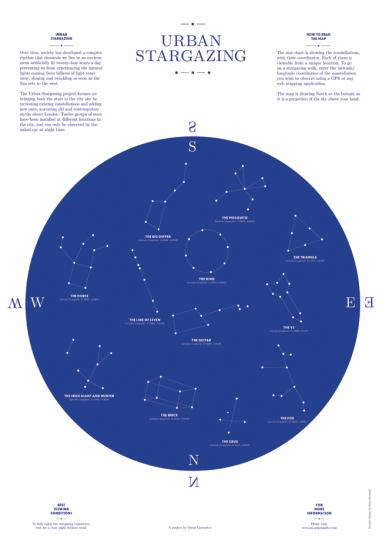Oscar Lhermitte, 'Urban Stargazing'