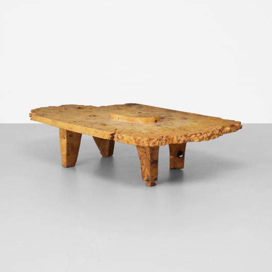 J.B. BLUNK coffee table e($30,000-$40,000)