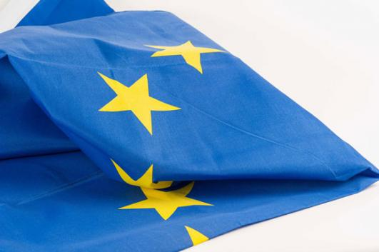 European Union Flag added by Cecil Balmond  [image: Dominic French]