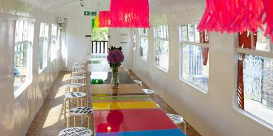 Deptford Project café - Morag Myerscough