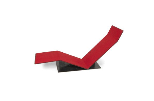 Hermann Becker 'Ground seat' (1989), estimated at $3,400, bought in.