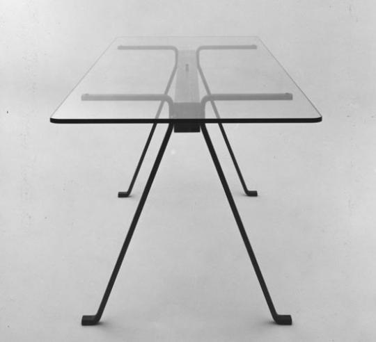 'Frate', table produced by Driade, 1973