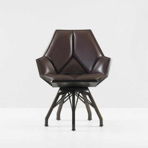 Pierre Paulin, armchair, 1982, estimated at  $7,000–9,000, sold for $26,250