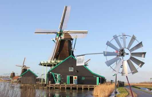 Wind Knitting Factory at Zaanse Schans