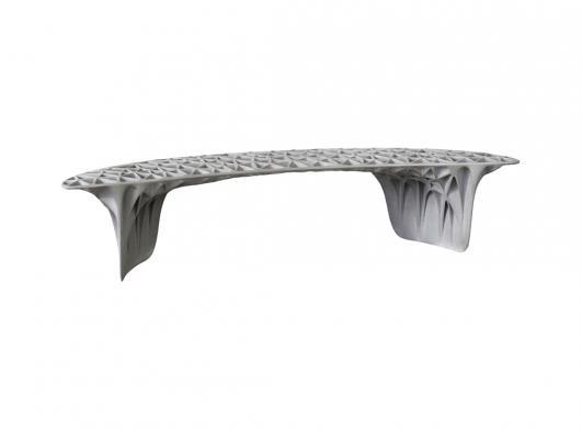 Janne Kyttanen, 'Sedona' bench (2014), aluminium, Galerie VIVID edition of 8 + 2AP