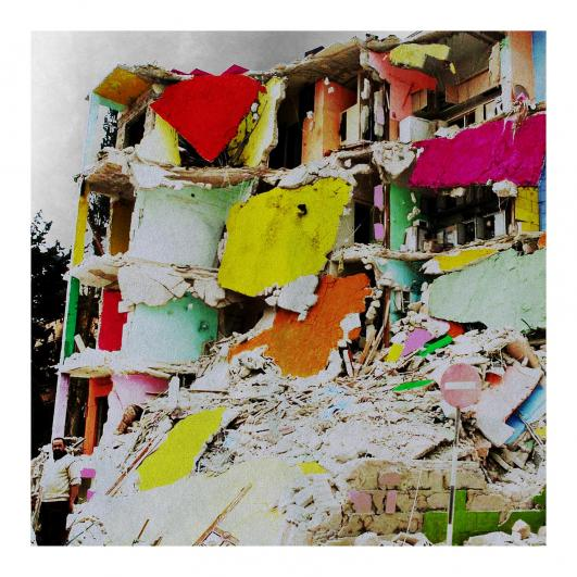 "TAP17 Tammam Azzam ""We' ll Stay Here"" 112x112 cm Archival Print on Cotton Paper 2012 Edition of 5"