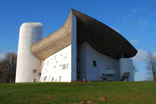 Le Corbusier's Chapel of Notre Dame du Haut vandalised