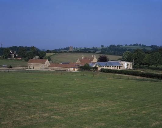 Hauser & Wirth Somerset Architectural Images Courtesy Hauser & Wirth. Photo: Hélène Binet