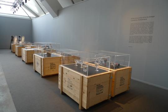 Sledge Hublot, ECAL/Philippe-Albert Lefebvre