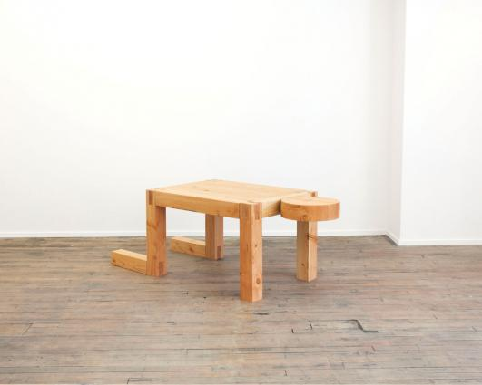 Truth Lies in Experience No Matter How Incomplete It May Be (man/desk/table) by RO/LU