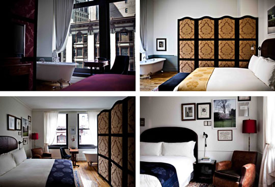 The NoMad Hotel Interiors