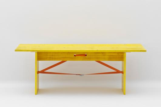 MAK Table, Recession Design / Paola De Francesco & Joao Silva, 2009