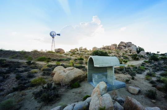 ARATA ISOZAKI, Obscured Horizon, Pioneertown,