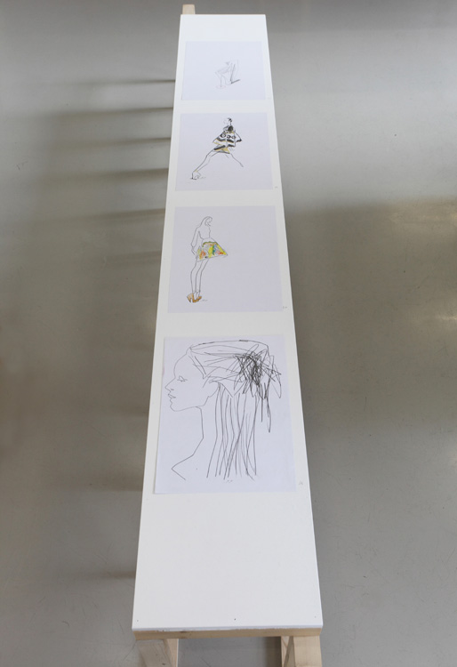 the Dress, the Designer & the Drawing at Galerie VIVID