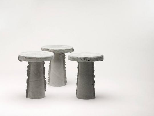 Slip Stools by Nicolas Le Moigne. Photography by Nicolas Le Moigne