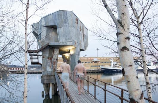 Gothenburg Bathing Culture by Raumlabor