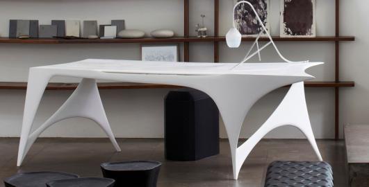 'Anamorphea Desk' by Yves de La Tour d'Auverge