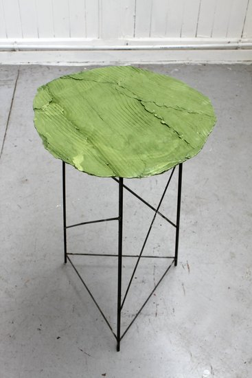 Peter Marigold, Wooden Table, Green 2, 2013