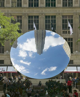 Anish Kapoor - Sky Mirror 2006