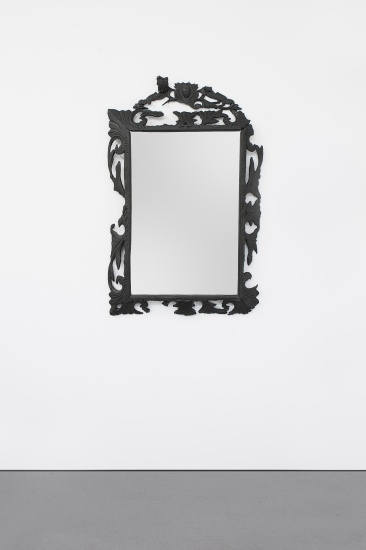 SMOKE BRETON MIRROR (SMALL) 2013 by Maarten Baas