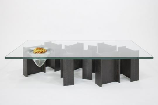 'Fish-I' coffee table by Rabih Hage, from his 2009 'Roughed Up' collection