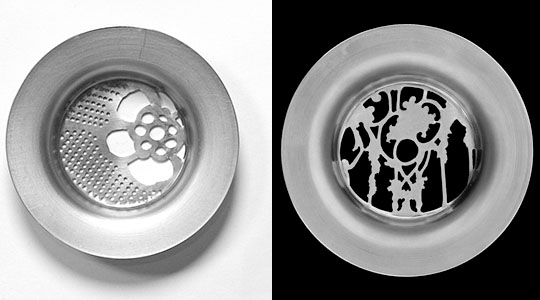 The Metal Lace Drain Sink Strainer by Joanna Meroz