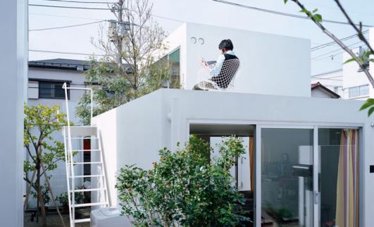 Office of Ryue Nishizawa, Moriyama House, 2005 © Tak_a shi Homma