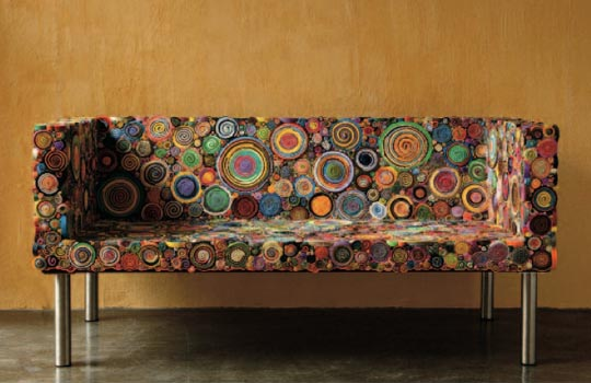 Sushi Sofa by Campana Brothers
