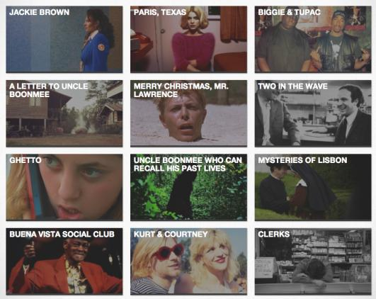 MUBI - Online Cinema offers DeTnk readers 30 Day Free Trial